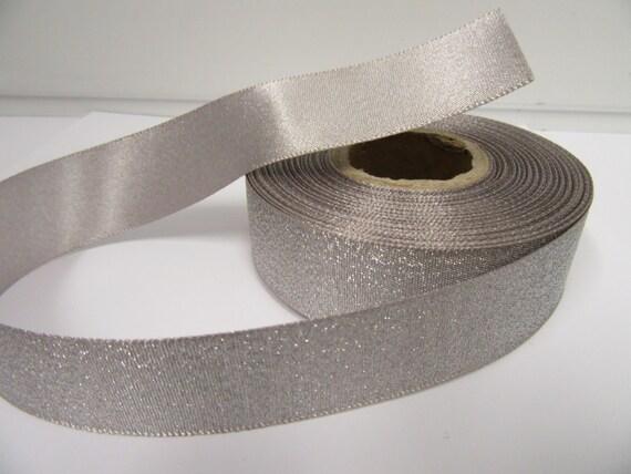 6mm//12mm Oro doble cara cinta de raso-Completo Roll 25m
