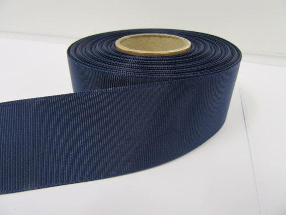 Ribbon Petersham Black Grosgrain 25mm x 10mtrs