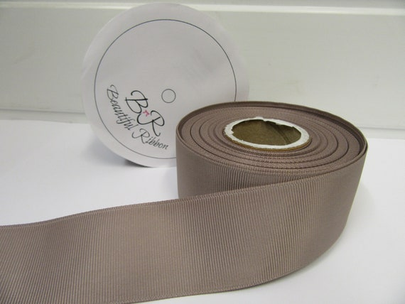 100 metres × 15mm Wide Light Cream Grosgrain Ribbon