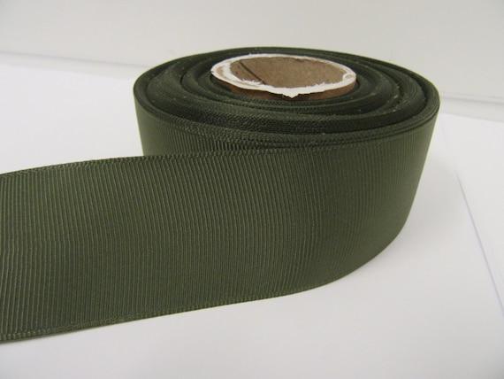 20 Mètres 3mm double face ruban de satin vert forêt