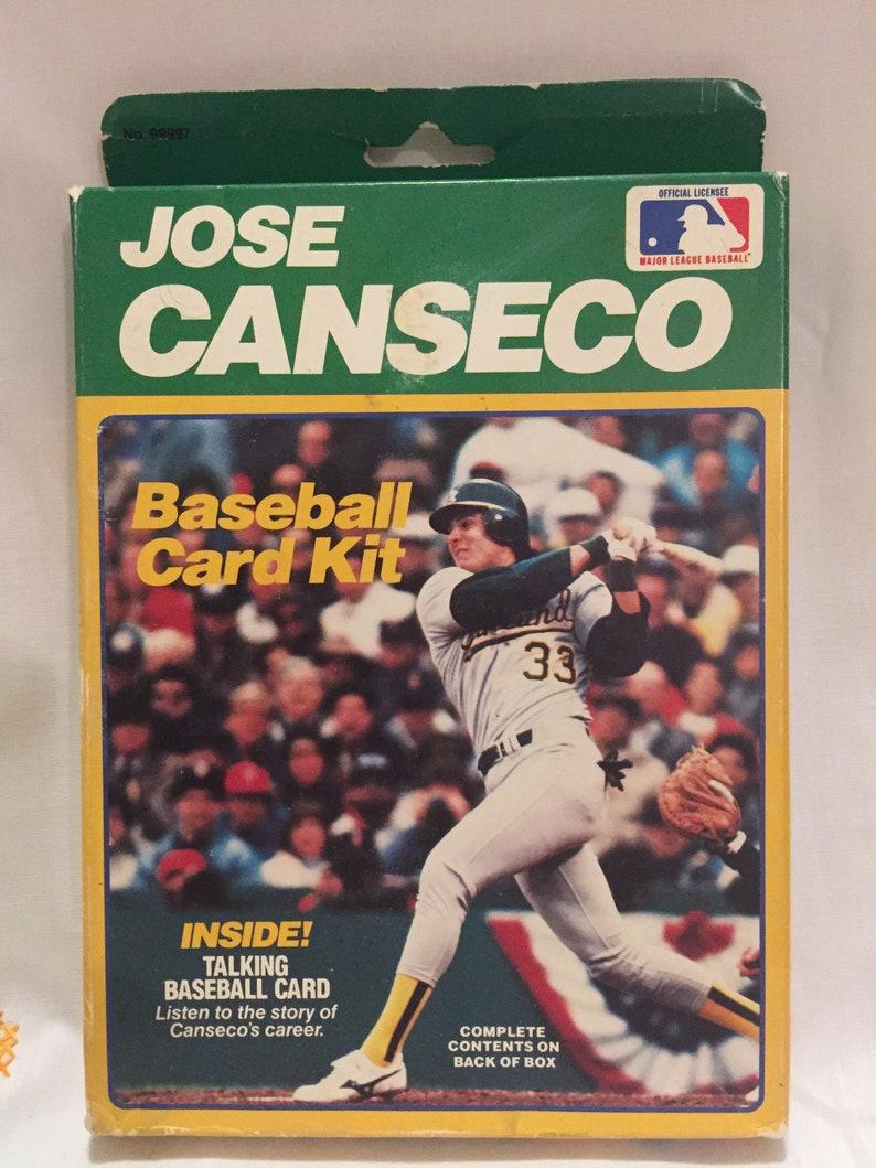 Jose Canseco Baseball Card Kit