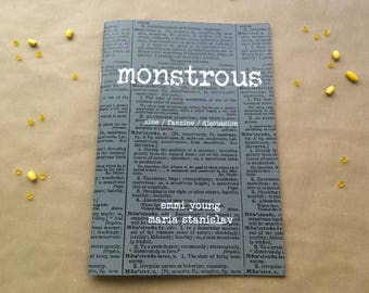 Monstrous - zine, fanzine, discussion
