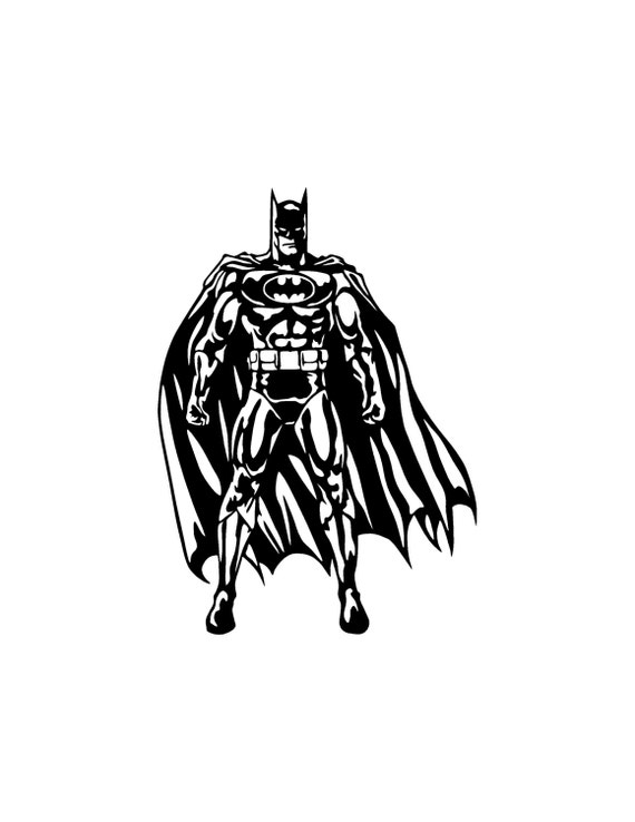 Batman Bat Signal Dark Knight BIG Vinyl decal wall window laptop car truck