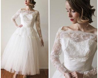 Mid Length Wedding Dresses