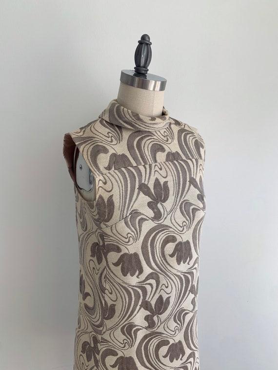 Vintage 1960's Mod Mini Shift Dress - image 5