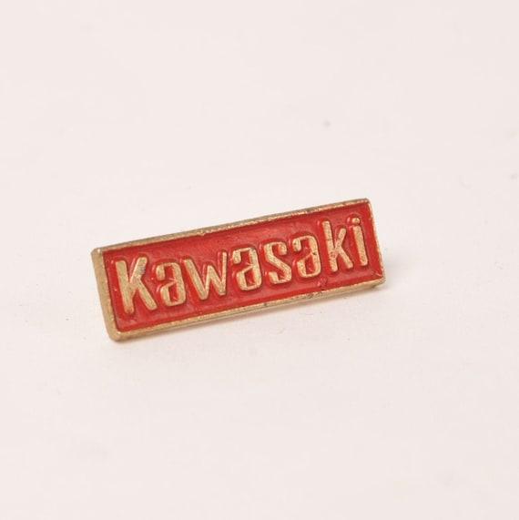 KAWASAKI metal Pin Badge FREE POSTAGE