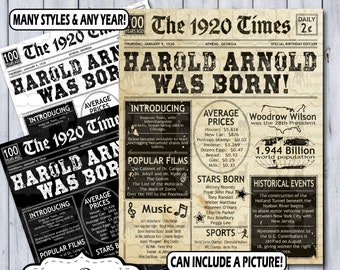 Newspaper Posters