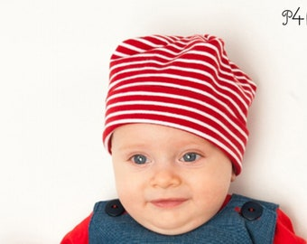 Bubu Hat Beanie for baby sewing pattern ebook
