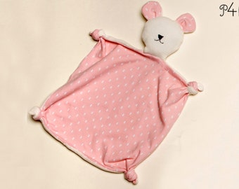 Sewing pattern for Baby Cuddly toy, Stuffed animal and tooth cloth is for beginner + a nice baby shower gift. Pdf TEDDY by Patternforkids