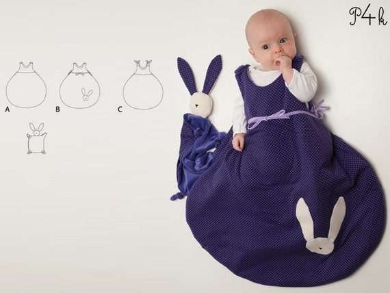 Baby Schlafsack Schnittmuster Pucksack Kinder Schlummersack | Etsy