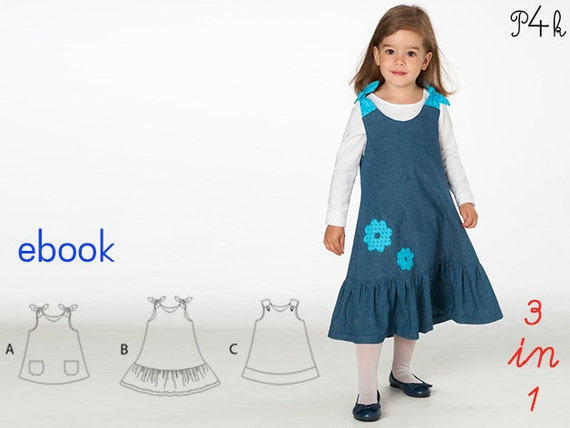 Schnittmuster Baby Hängerchen Mädchenkleid Tunika | Etsy
