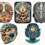"""Sticker Pack, 4""""x5"""" stickers, scratch&water resistant, free shipping in US!"""