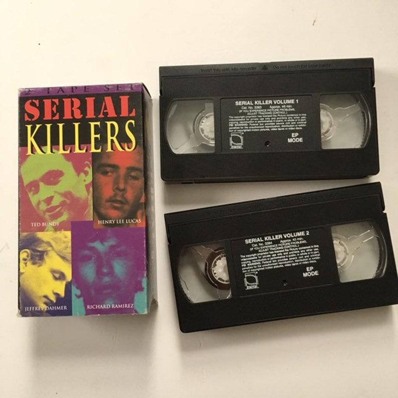Serial Killers VHS lot Jeffrey Dahmer Ted Bundy John Wayne Gacy Henry Lee  Lucas Movie Video Tape