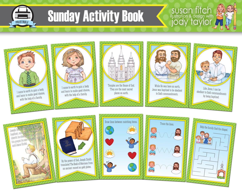 El domingo tranquilo libro de actividades | Etsy