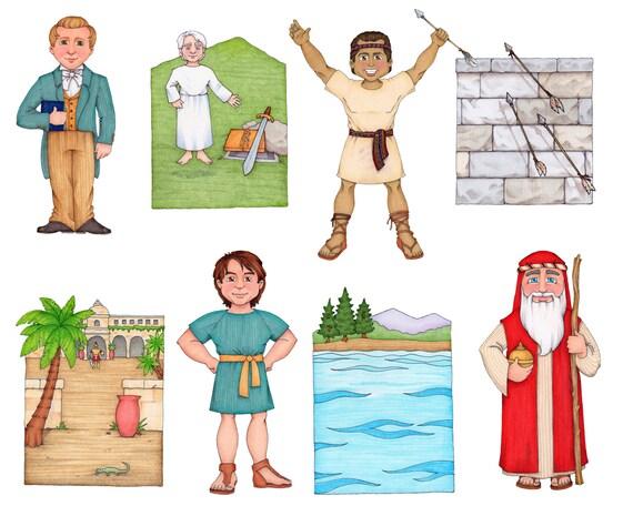 Siga el Profeta Clip Art libro de los profetas Mormones | Etsy