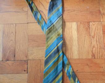 Vintage 70's B.J Ernst Men's Necktie Tie