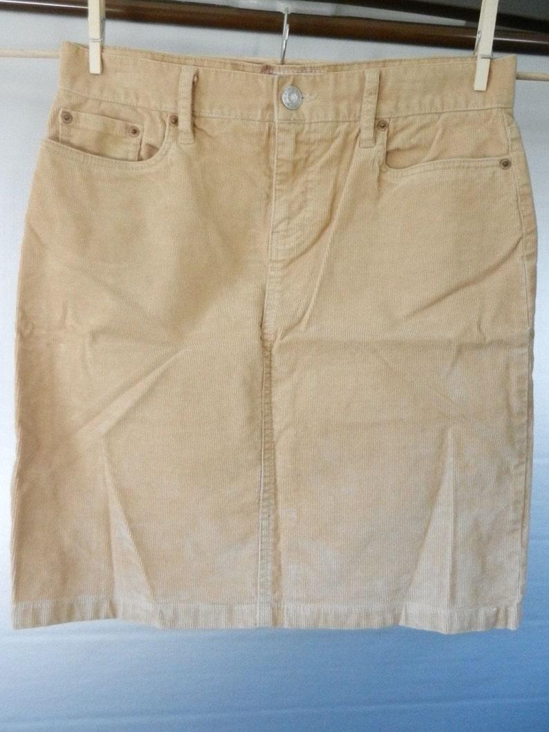 79f2106af7 Retro 90's Old Navy Tan Corduroy Mini Skirt Size 8 | Etsy