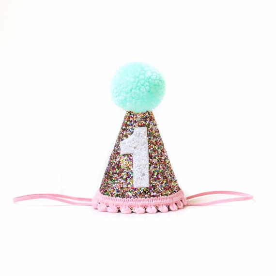 Birthday Party Hat 1st Crown Baby