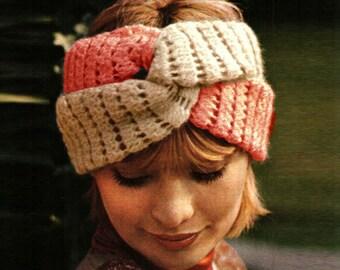 instructions only Vintage Crochet Headbands,Belts,Armlets,Dog Collar PATTERNS 1970/'s***PDF instant digital download***NOT a finished item