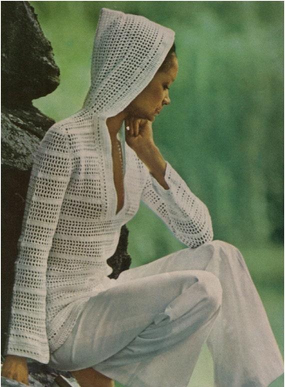 Patron de crochet pdf de tejido crochet blusa tejida con | Etsy