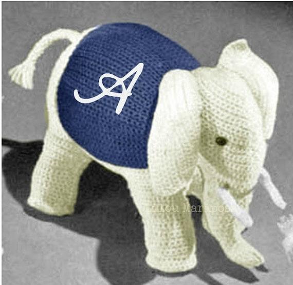 Patron pdf de tejido en crochet juguete elefante crochet | Etsy