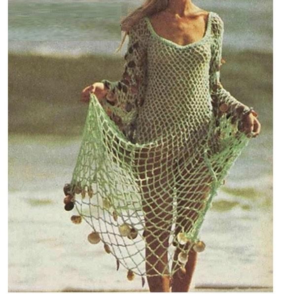 Modelos de vestidos largos tejidos a crochet