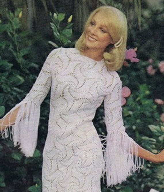 Patron de tejido crochet patron pdf de tejido vestido de | Etsy
