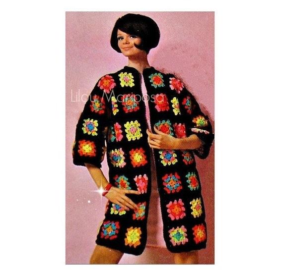 Patron de crochet pdf de tejido en crochet saco blazer | Etsy