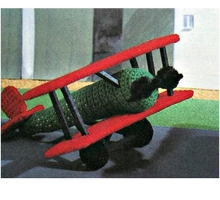 Patron pdf de tejido en crochet juguete aviones avion en | Etsy