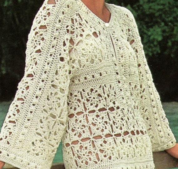 Patron de tejdo crochet pdf de tejido a crochet vestido para | Etsy