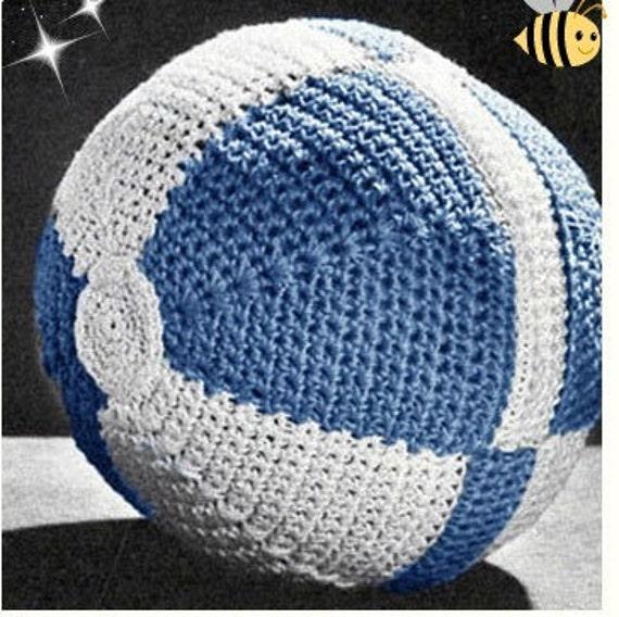 Patron pdf de tejido en crochet juguete balon pelota para bebe | Etsy