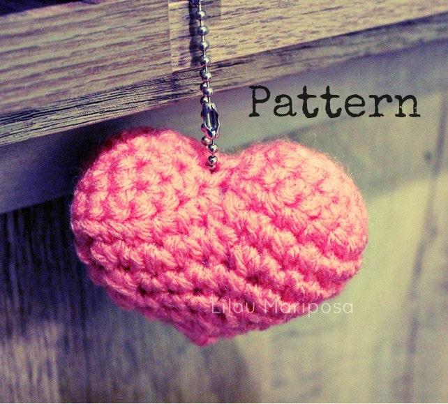 Patron pdf crochet Corazon a crochet amigurumi Amigurumi | Etsy