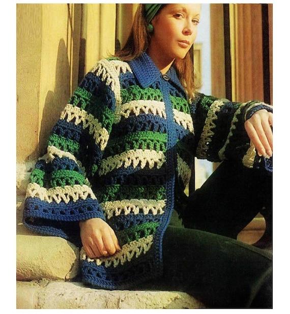 Patron de crochet pdf de tejido sweater sueter crochet | Etsy