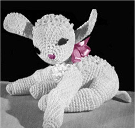 Patron pdf de tejido en crochet juguete ovejita oveja crochet | Etsy
