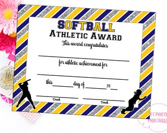 items similar to soccer certificate of achievement soccer award