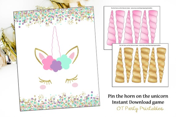 graphic relating to Pin the Horn on the Unicorn Printable named Instantaneous Down load - Pin the Horn upon the Unicorn Recreation - Unicorn Social gathering - Unicorn Deal with - Unicorn Printable - Unicorn Lashes - Horn Printable