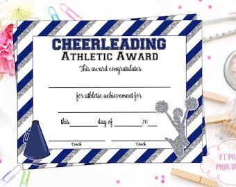 Editable cheerleader certificate instant download instant download cheerleading certificate cheerleading award cheerleading printable cheerleading achievement end yelopaper Gallery