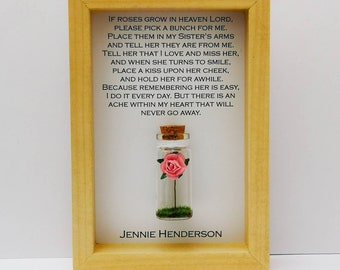 Heaven Quote Frame Etsy