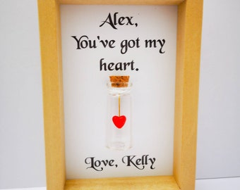 girlfriend christmas gift romantic gifts for girlfriends personalised girlfriend christmas gift add names or your own message