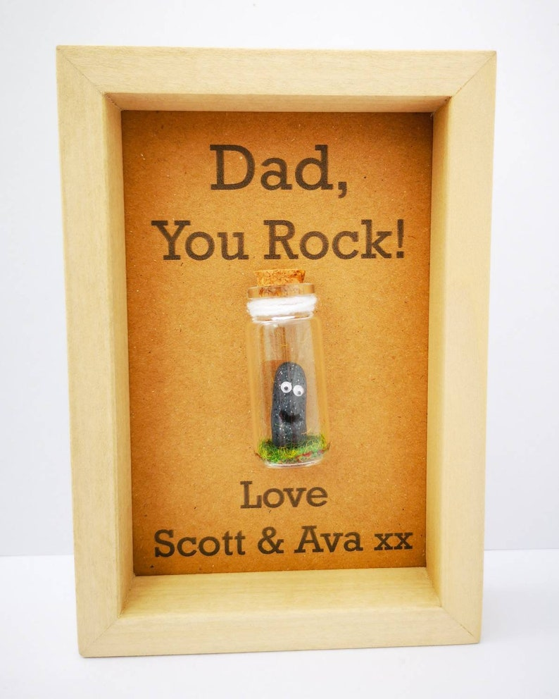 Daddy frame  Daddy gift  Personalised daddy gift  Cool image 0