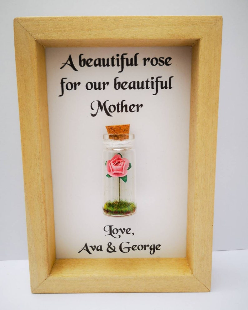 Mum Frame  Personalised Mum Gift  Add names or your own image 0