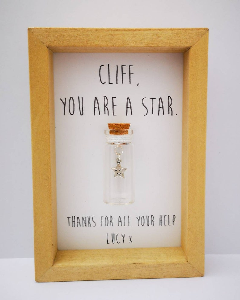 Thank you Thank you gift Personalised thank you gift Thank image 0