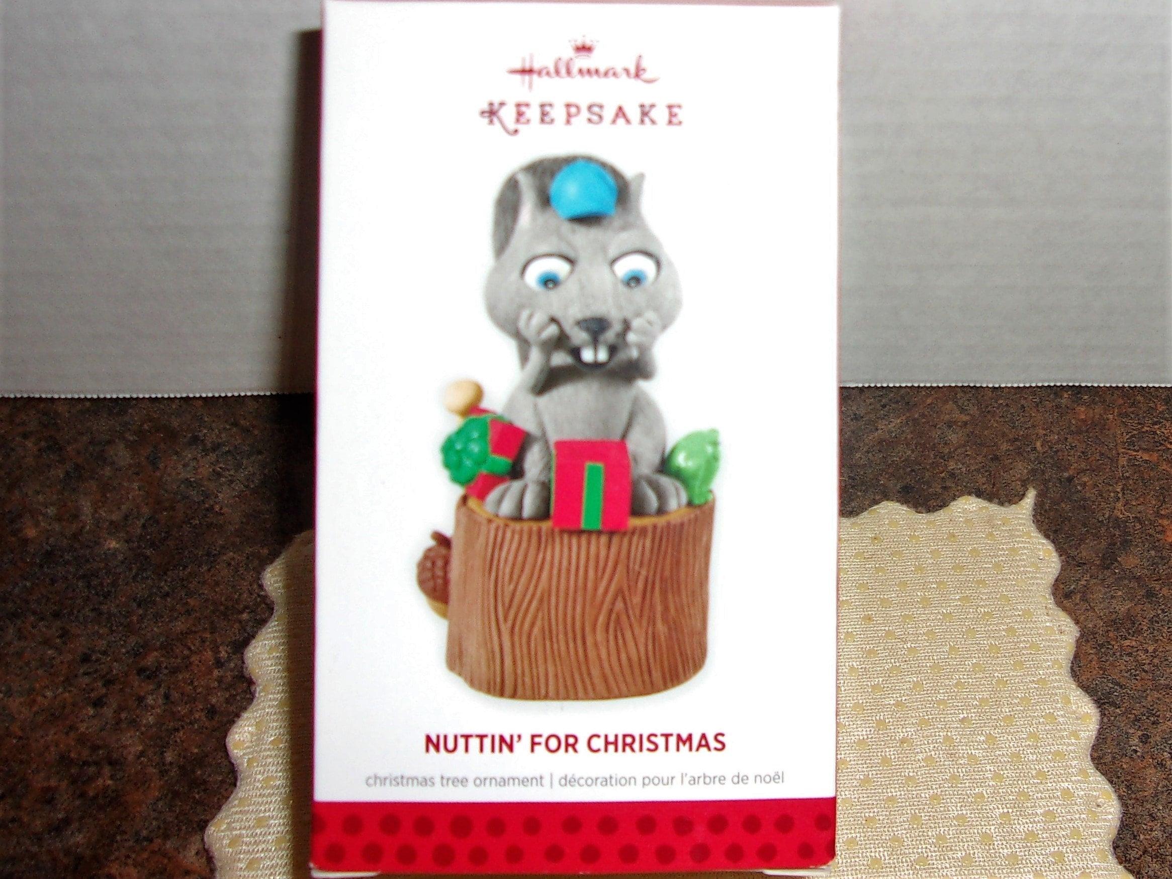 Hallmark Christmas Ornament Nuttin\' For Christmas   Etsy