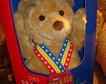 Wish Teddy Bears - Set of 3 - Hope, Courage and Love by Gund