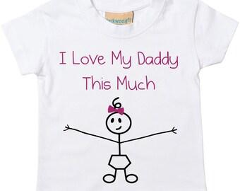 ce403abfa9d8f Daddy's girl children | Etsy