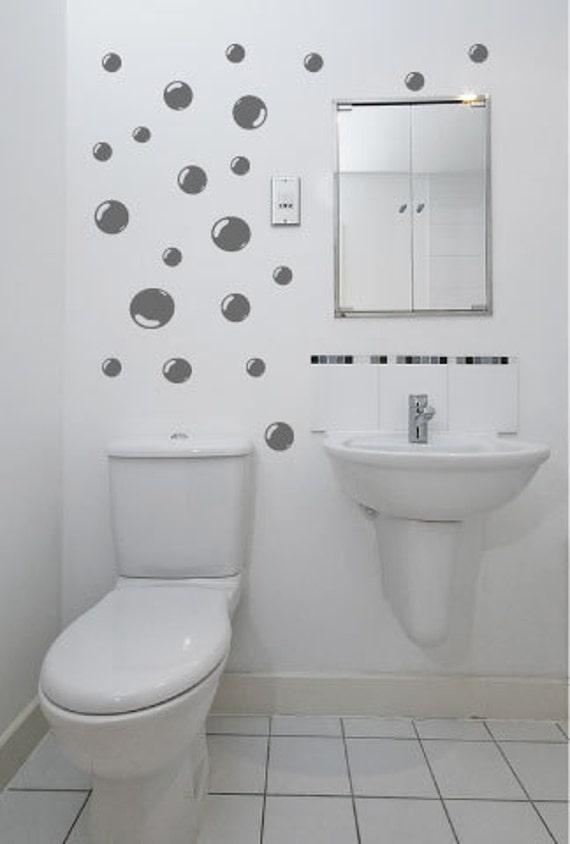 Wall art bathroom shower tile removable decor decal mural kid sticker bubbleHGB1