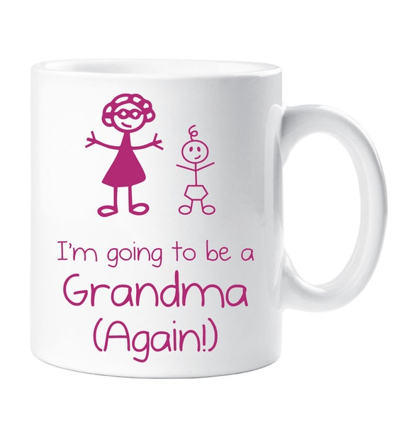 I/'m Going To Be A Mummy Again Mug Cup New Baby Pregnancy Baby Shower Gift