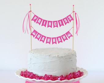Custom Princess Cake Topper