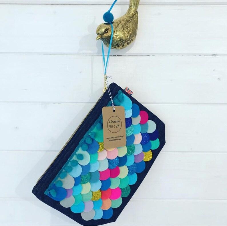 964186b11679 Mermaid zip purse   WAS 22.50 NOW 15.00