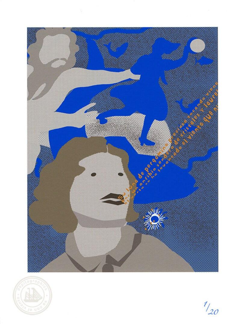 Giclée Print / Reciting García Lorca's poems / image 0